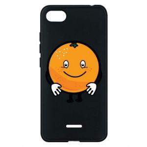 Etui na Xiaomi Redmi 6A Pomarańcza