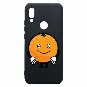 Etui na Xiaomi Redmi 7 Pomarańcza
