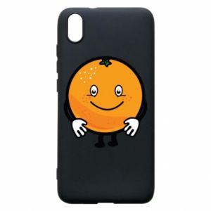 Etui na Xiaomi Redmi 7A Pomarańcza
