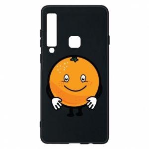 Etui na Samsung A9 2018 Pomarańcza