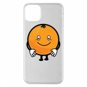 Etui na iPhone 11 Pro Max Pomarańcza