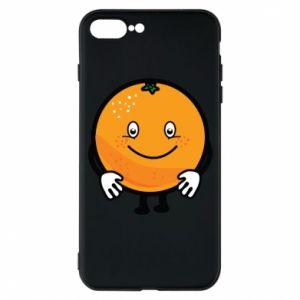 Etui na iPhone 7 Plus Pomarańcza