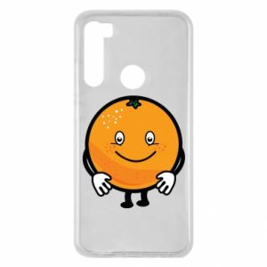 Etui na Xiaomi Redmi Note 8 Pomarańcza