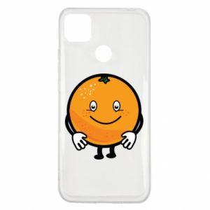 Etui na Xiaomi Redmi 9c Pomarańcza