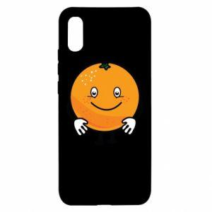 Etui na Xiaomi Redmi 9a Pomarańcza