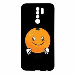 Etui na Xiaomi Redmi 9 Pomarańcza