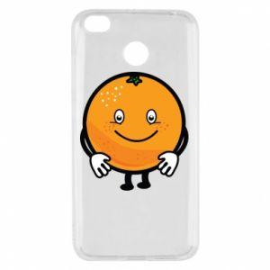 Etui na Xiaomi Redmi 4X Pomarańcza