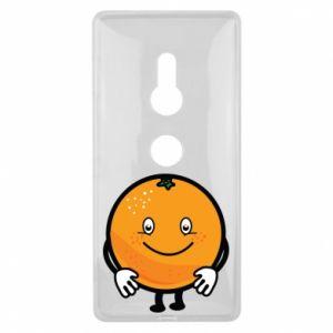 Etui na Sony Xperia XZ2 Pomarańcza