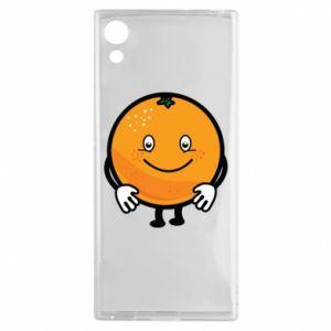 Etui na Sony Xperia XA1 Pomarańcza