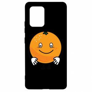 Etui na Samsung S10 Lite Pomarańcza