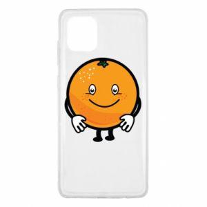 Etui na Samsung Note 10 Lite Pomarańcza