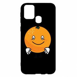 Etui na Samsung M31 Pomarańcza