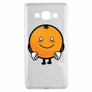 Etui na Samsung A5 2015 Pomarańcza