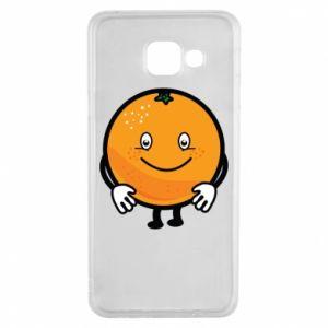 Etui na Samsung A3 2016 Pomarańcza