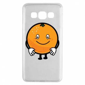 Etui na Samsung A3 2015 Pomarańcza