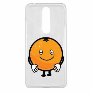 Etui na Nokia 5.1 Plus Pomarańcza