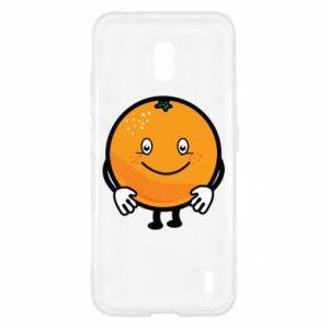 Etui na Nokia 2.2 Pomarańcza