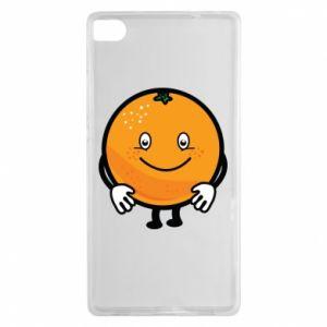 Etui na Huawei P8 Pomarańcza