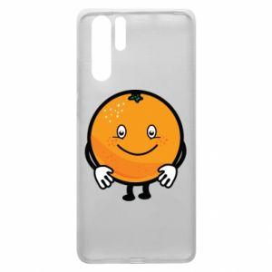 Etui na Huawei P30 Pro Pomarańcza