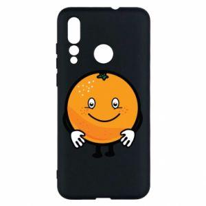 Etui na Huawei Nova 4 Pomarańcza