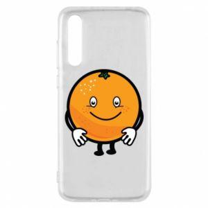 Etui na Huawei P20 Pro Pomarańcza