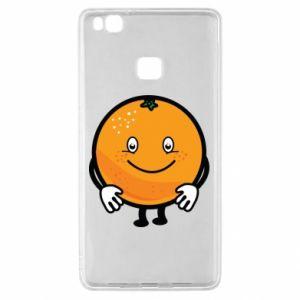 Etui na Huawei P9 Lite Pomarańcza