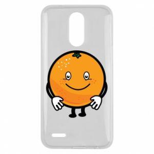 Etui na Lg K10 2017 Pomarańcza