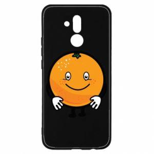 Etui na Huawei Mate 20 Lite Pomarańcza