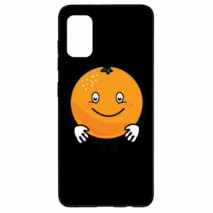 Etui na Samsung A41 Pomarańcza