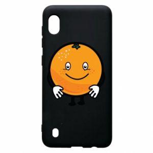 Etui na Samsung A10 Pomarańcza