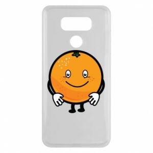 Etui na LG G6 Pomarańcza