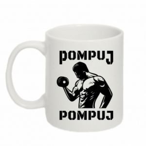 Mug 330ml Pump your muscles