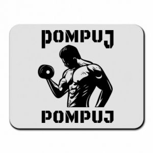 Mouse pad Pump your muscles