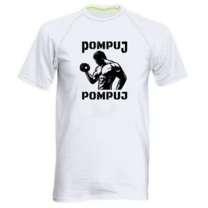 Men's sports t-shirt Pump your muscles