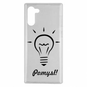 Etui na Samsung Note 10 Pomysł