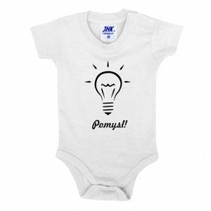 Baby bodysuit Idea