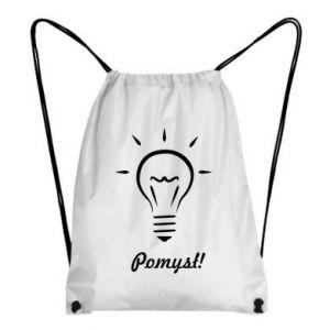 Backpack-bag Idea