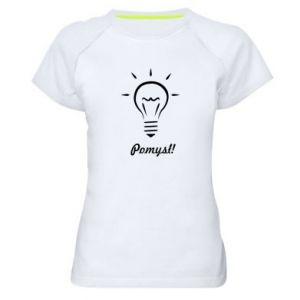 Women's sports t-shirt Idea