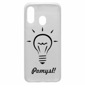 Phone case for Samsung A40 Idea