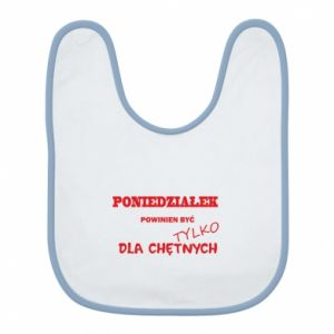 Bib Monday should be ... - PrintSalon