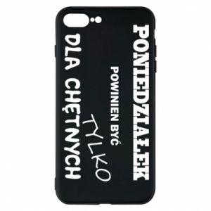 Phone case for iPhone 8 Plus Monday should be ... - PrintSalon