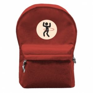 Backpack with front pocket Portal - hulahup