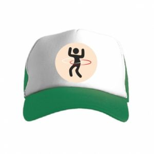 Kid's Trucker Hat Portal - hulahup