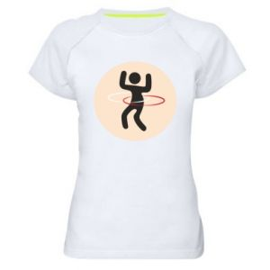 Women's sports t-shirt Portal - hulahup