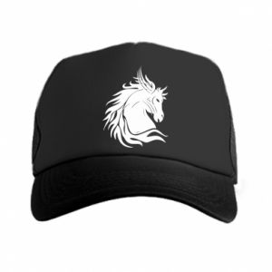 Trucker hat Horse portrait - PrintSalon