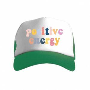 Kid's Trucker Hat Positive Energy