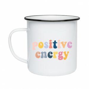 Kubek emaliowane Positive Energy