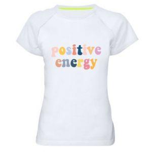 Damska koszulka sportowa Positive Energy