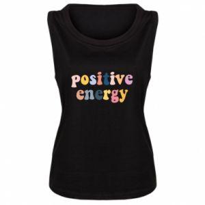 Damska koszulka bez rękawów Positive Energy