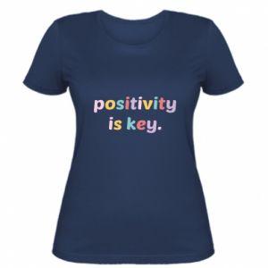 Koszulka damska Positivity is key